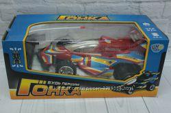 Машина гоночная, ру, аккум. , гонка, в коробке, 371617см.