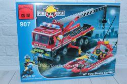 Конструктор Brick Пожарная тревога, 420 деталей