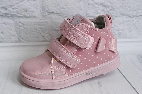 Демисезонные ботинки на девочку тм Clibee, р. 20,21,22,23,24,25