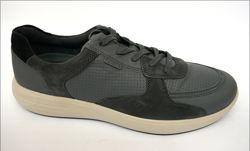 31.7 Ecco Soft 7 мужские кожаные кроссовки оригинал Эко