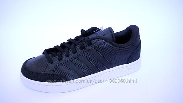 27.0 Adidas Grand Court мужские черные кроссовки сникерсы адидас оригинал