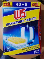 w5 таблетки до посудомойки