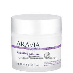 Новинка. Крем для тела смягчающий Sensitive Mousse, 300 мл, ARAVIA Organic