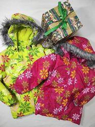 Зимняя лыжная куртка на девочку