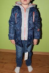 Куртка весна на флисе для мальчика, Распродажа