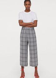Прямые брюки кюлоты h&m