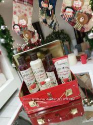 Золотой чай Красное Яблоко Новогодний супер набор Ив Роше  чемоданчик