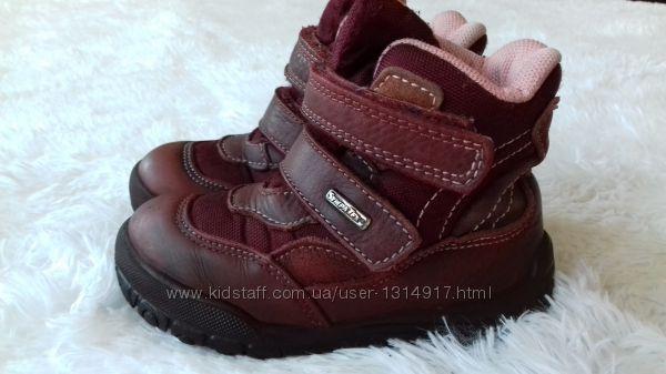 Зимние мембранные термо ботинки Twisty Швейцария. Размер 25 ст. 16 см