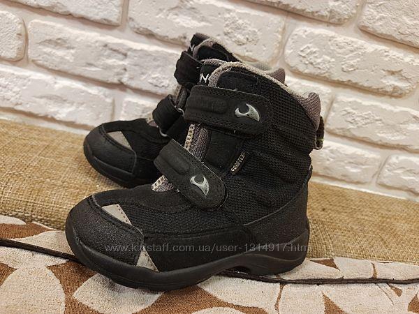 Отличные ботинки зимние Viking Норвегия. Размер 26 стелька 17 см. Мембр