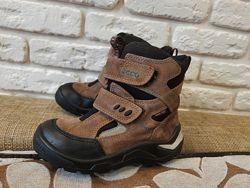 Зимние ботинки Ecco ориг с Gore-tex Размер 28 ст. 18 см