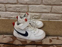 Кожаные хайтопы, кроссовки Nike  ориг. Размер 27 стелька 17.5 см