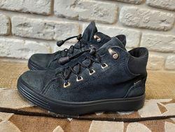 Кожаные деми ботинки Ecco оригинал Размер 31 ст. 20 см. Гортекс.