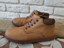 Кожаные ботинки, хайтопы Timberland   ориг. Размер  33 ст. 21,5 см .