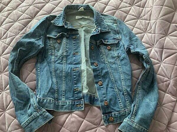 Джинсовый пиджак H&M, состояние новой вещи