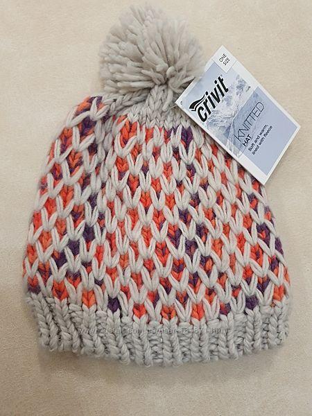 Зимняя шапка на флисе Crivit, новая