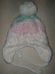 Зимняя шапка на флисе H&M, 4-8 лет, как новая