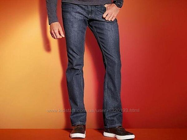 Мужские термо джинсы M 48 euro Livergy straight fit Германия
