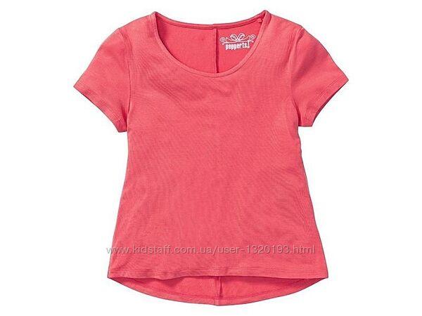 Мягусенькая футболка для подростка 158 164 см Pepperts Германия розовая