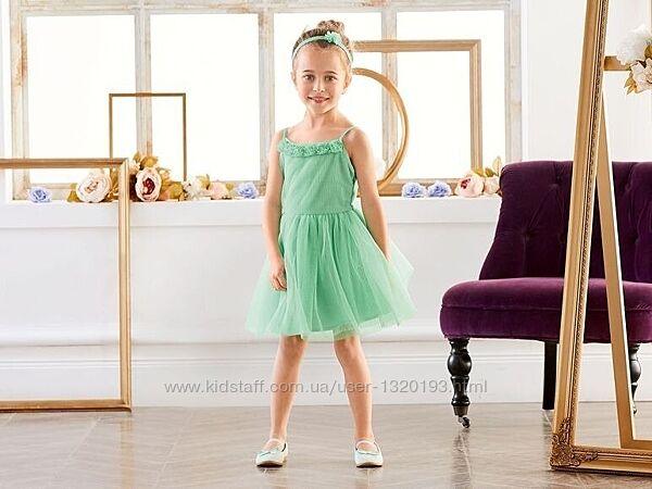 Нарядное платье с фатином рост 98 104 см Lupilu Германия