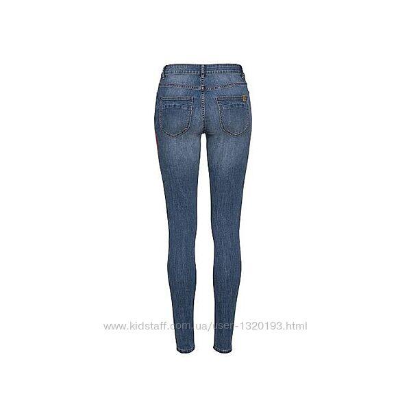 Светло синие джинсы скинни super skinny м 38 euro германия esmara