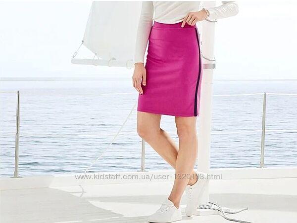 Юбка карандаш XS 32 34 euro Esmara Германия розовая яркая