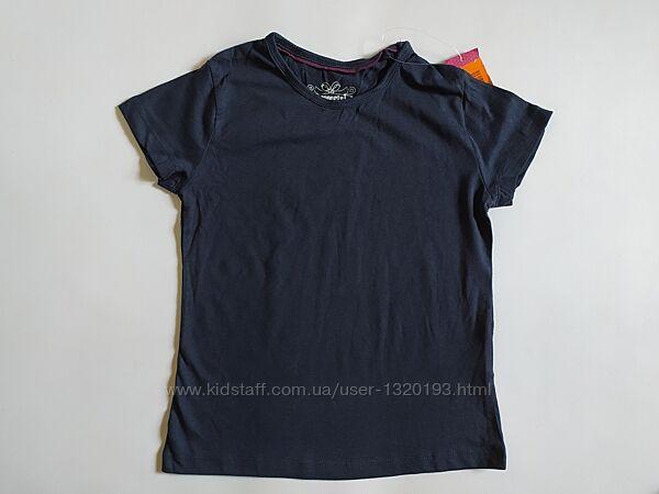 Хлопковая футболка для девочки 122 128 см Pepperts Германия