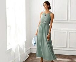 Вечернее платье в пол М 38 euro Esmara Германия морская волна