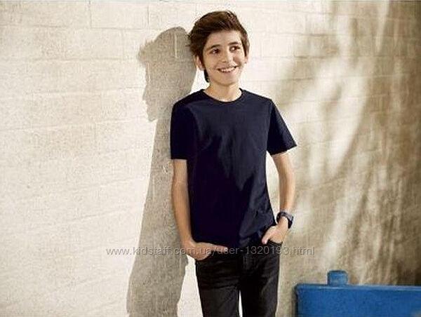 Хлопковая футболка для мальчика 134 140 см Pepperts Германия синяя