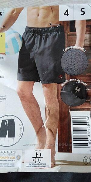 Мужские пляжные шорты плавки для купания S 44 46 Livergy Германия