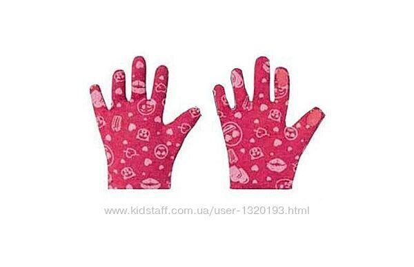 Детские перчатки с тачскрин, сенсорные, lidl размер 4 розовые
