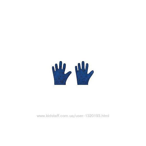 Детские перчатки с тачскрин, сенсорные, lidl размер 5 синие