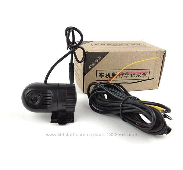 Регистратор с подключением к мониторам и магнитолам через кабель AV