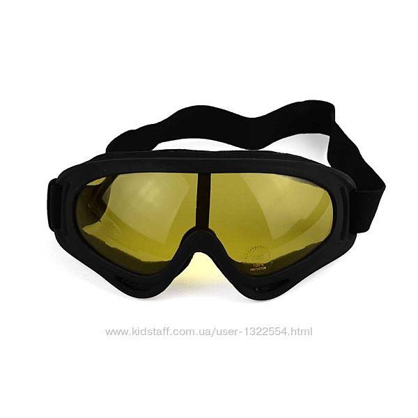 Лыжные очки разные цвета МГ-1001