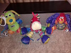 Lamaze  Nuby развивающие игрушки 0-24мес.
