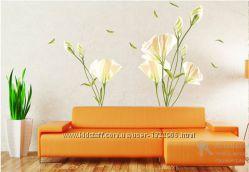 Интерьерная наклейка Цветок лилии 180х160 см