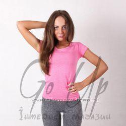Спортивные женские футболки для фитнеса, one active, 6 цветов. футболка