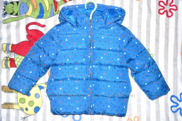 Теплая курточка на малыша Name It Дания 92-98