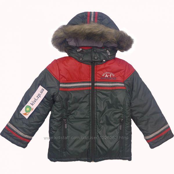 КТ108 Зимняя куртка для мальчика р. 104, 110 ТМ Бемби