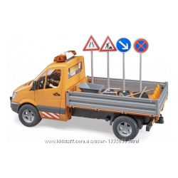 МВ Sprinter BRUDER дорожная служба  фигурка  аксессуары, М116 02537