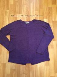 Лёгкий свитерок фиолетового цвета
