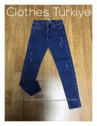 Плотные джинсы скинни