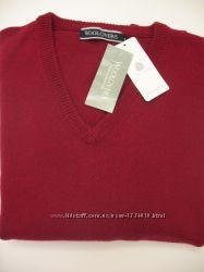 Новый мужской свитер Woolovers Англия, Woolmark 100шерсть, р. М-L, наш 48-50