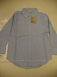 Новая голубая рубашка Crazy8, на 5-7 лет, с биркой