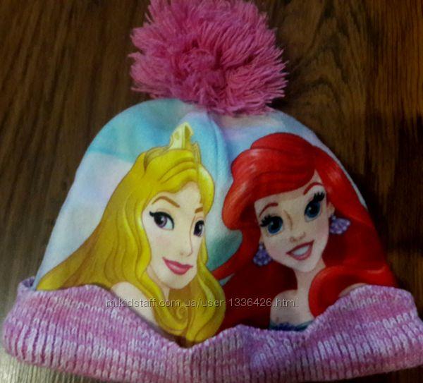 Шапка с принцессами