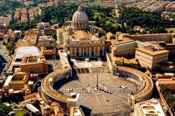Музей Ватикана, Сикстинская капелла и Собор Св. Петра в Риме
