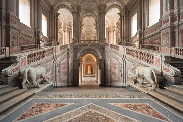 Экскурсия в Королевский дворец Казерты в Риме