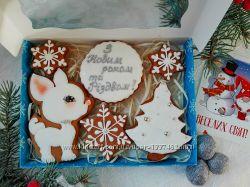 Новогодние и рождественские пряники, пряники на праздник Святого Николая