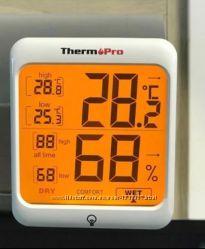 Гигрометр термометр. Подсветка. Качество