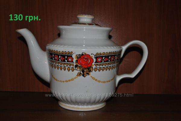 Заварники, заварочные чайники, кофейники из сервизов СССР