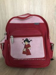 Рюкзак красно-розовый Wallaby